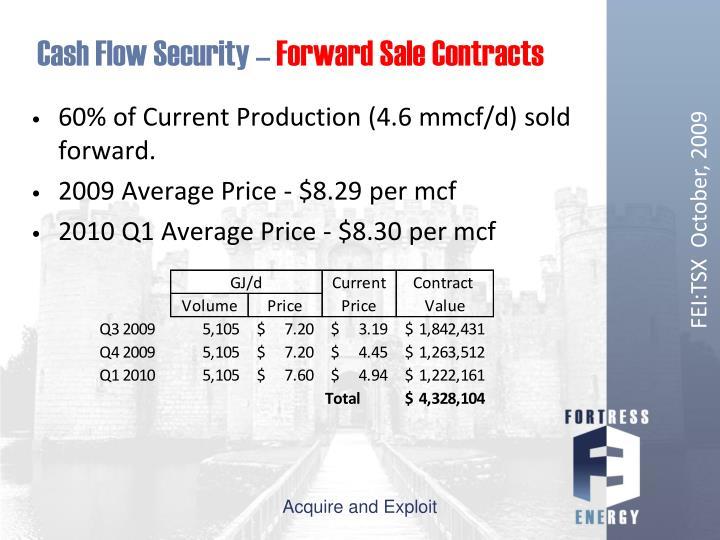 Cash Flow Security –