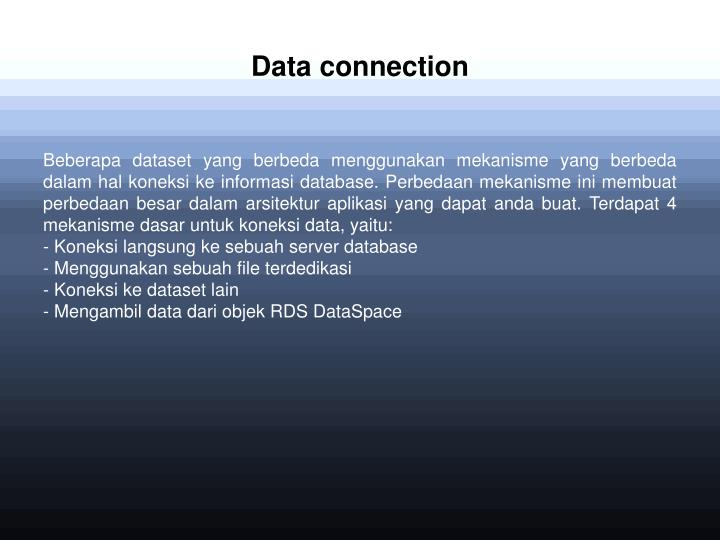 Data connection