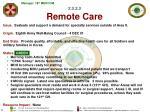 2 3 2 3 remote care
