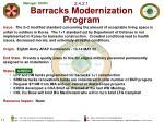2 4 2 1 barracks modernization program