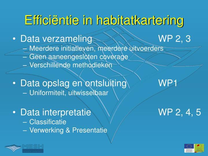 Data verzamelingWP 2, 3