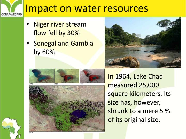 Impact on water resources