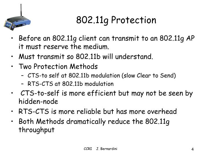 802.11g Protection