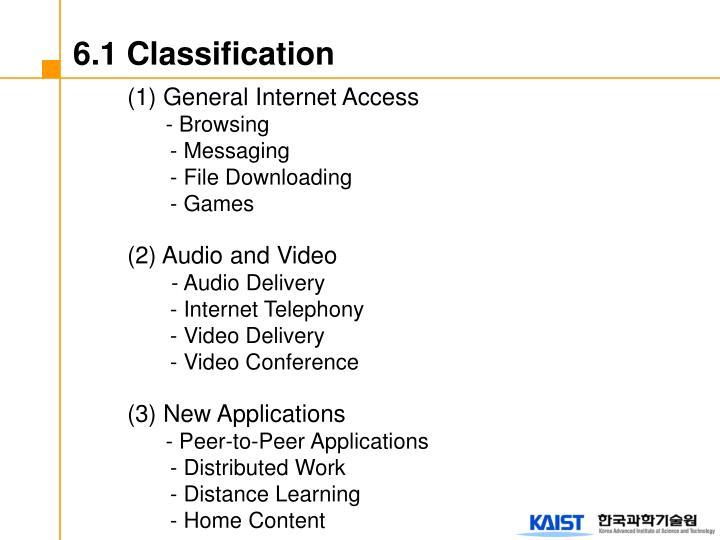 6.1 Classification