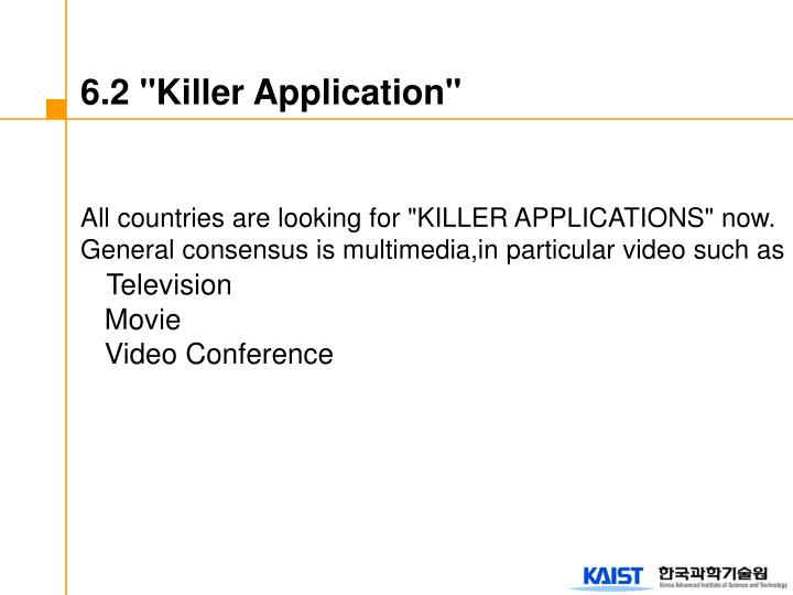 "6.2 ""Killer Application"""