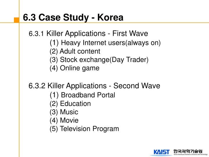 6.3 Case Study - Korea
