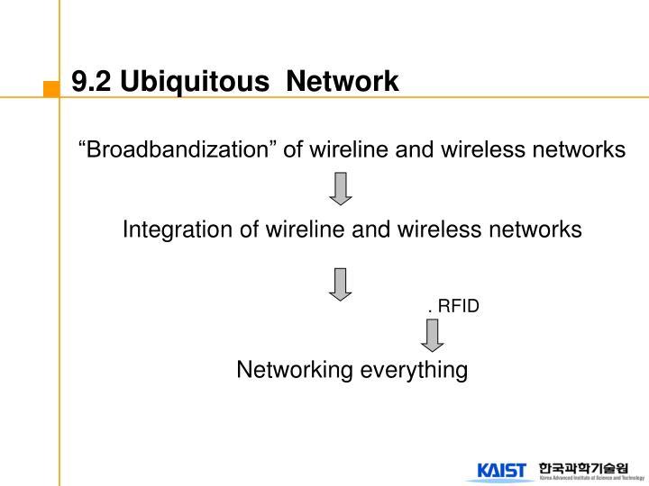 """Broadbandization"" of wireline and wireless networks"