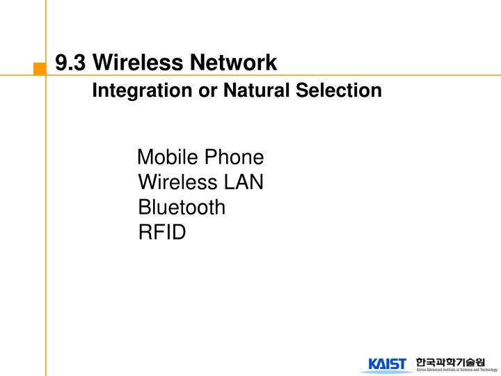 9.3 Wireless Network