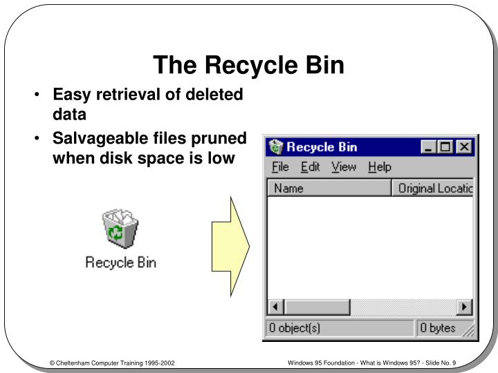 The Recycle Bin