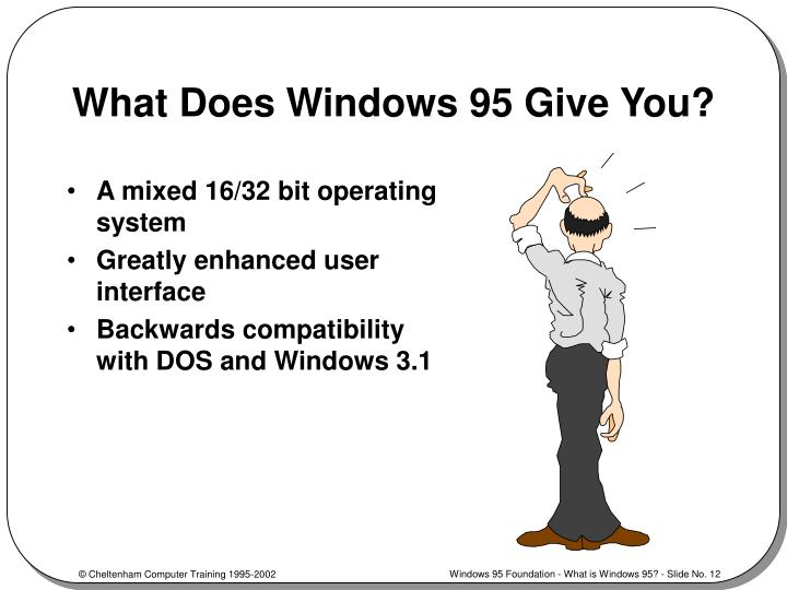 What Does Windows 95 Give You?