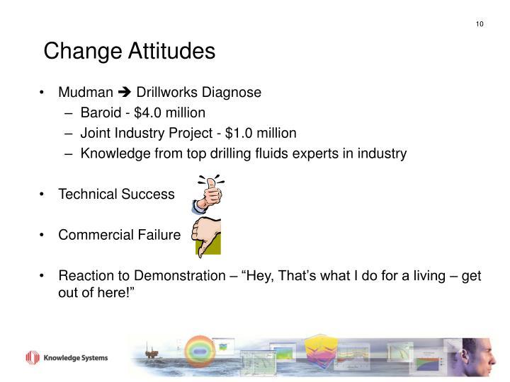 Change Attitudes
