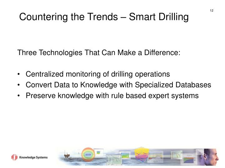 Countering the Trends – Smart Drilling