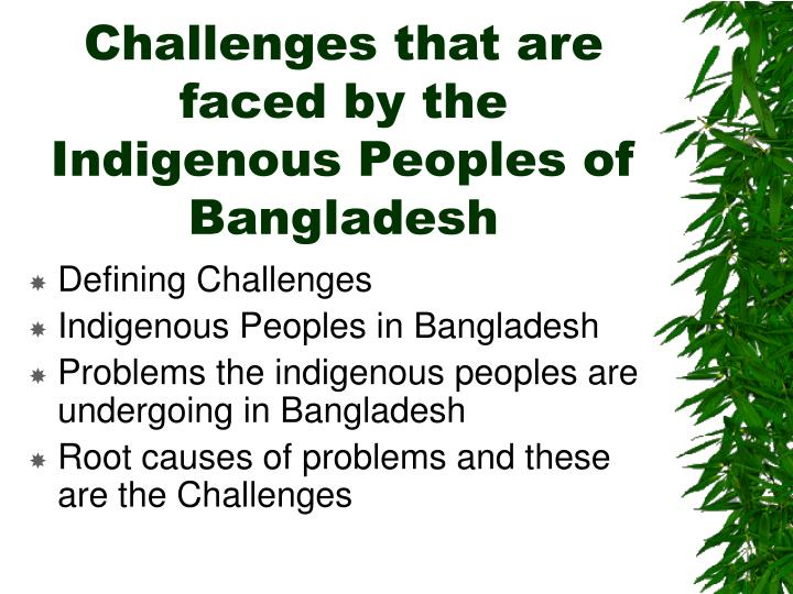 challenges faced by indigenous people