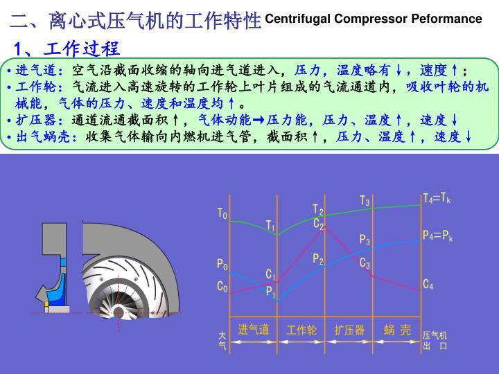 二、离心式压气机的工作特性