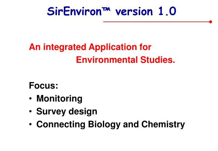 SirEnviron