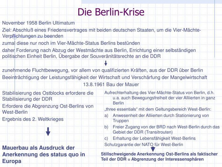 Die Berlin-Krise