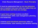 crisis resource management basic principles11