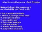 crisis resource management basic principles6