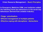 crisis resource management basic principles7