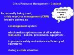 crisis resource management concept12