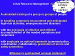 crisis resource management concept13