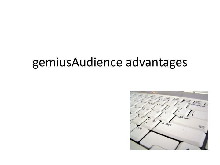 gemiusAudience advantages