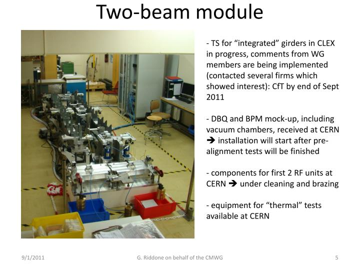Two-beam module