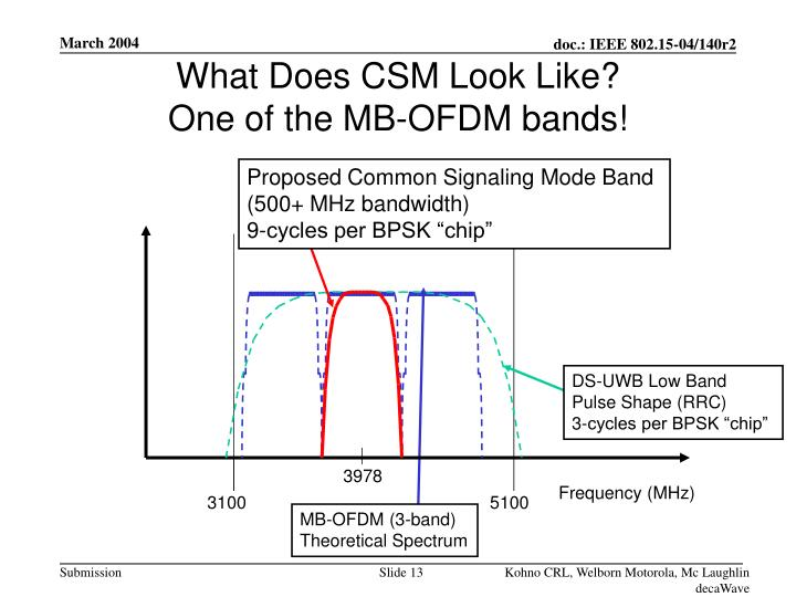 What Does CSM Look Like?