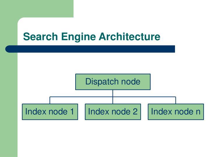Search Engine Architecture