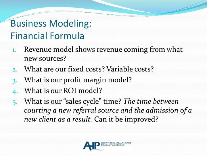 Business Modeling: