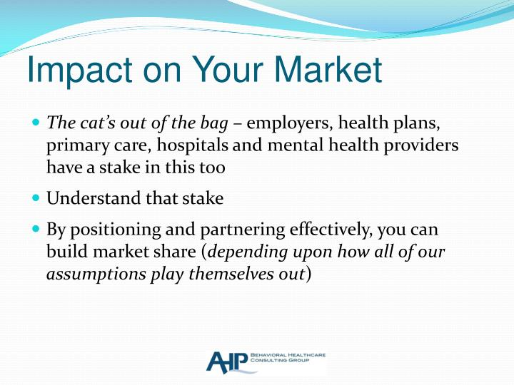 Impact on Your Market