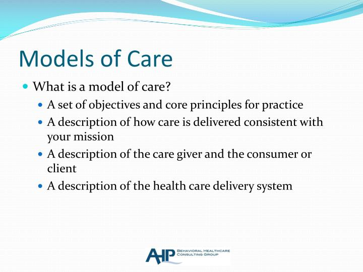 Models of Care