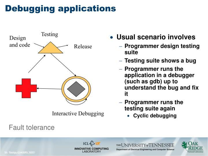 Debugging applications