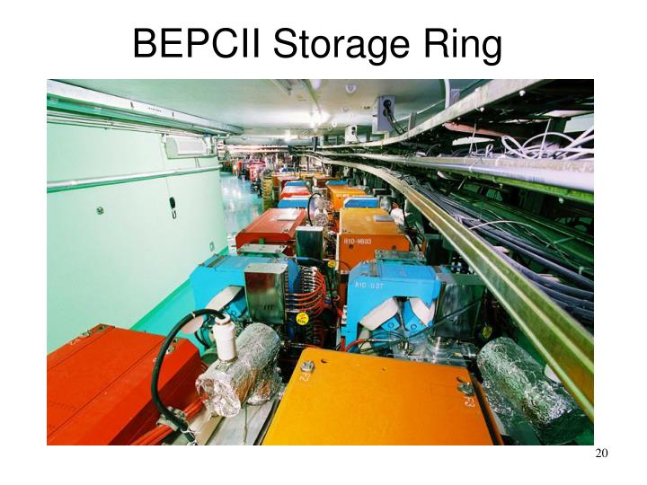 BEPCII Storage Ring