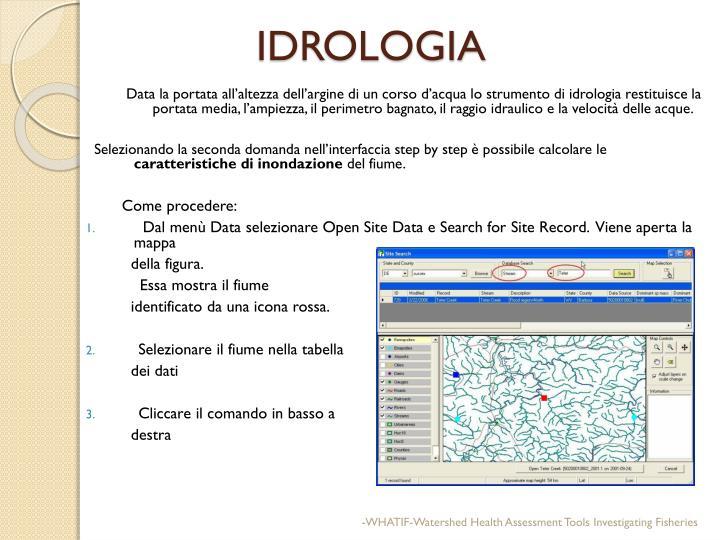 IDROLOGIA