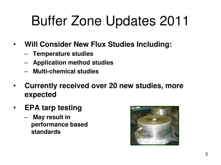 Buffer Zone Updates 2011