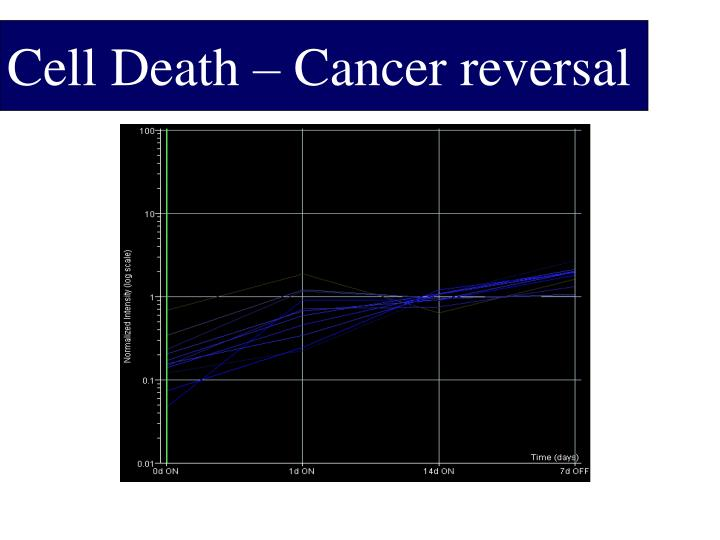 Cell Death – Cancer reversal