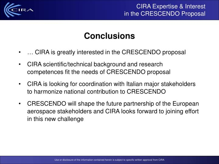 CIRA Expertise & Interest