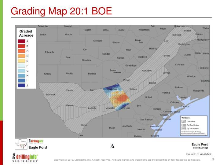 Grading Map 20:1 BOE