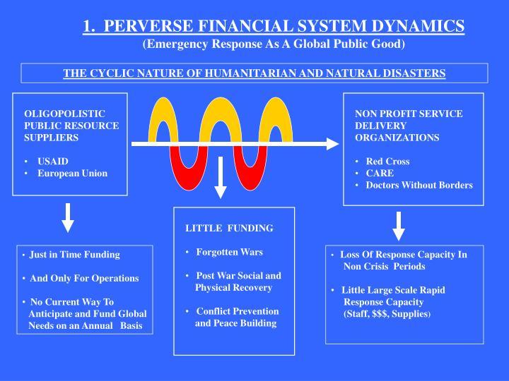 1.  PERVERSE FINANCIAL SYSTEM DYNAMICS
