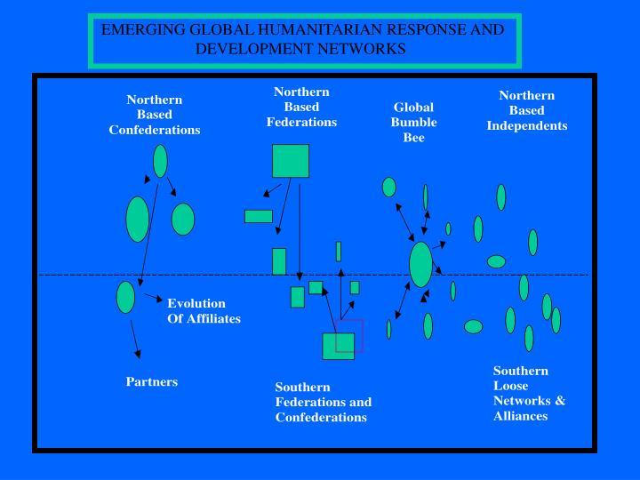 EMERGING GLOBAL HUMANITARIAN RESPONSE AND