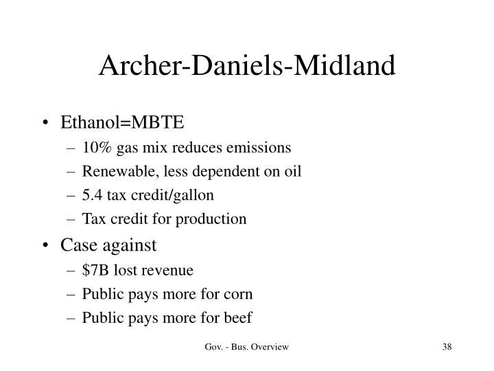 Archer-Daniels-Midland