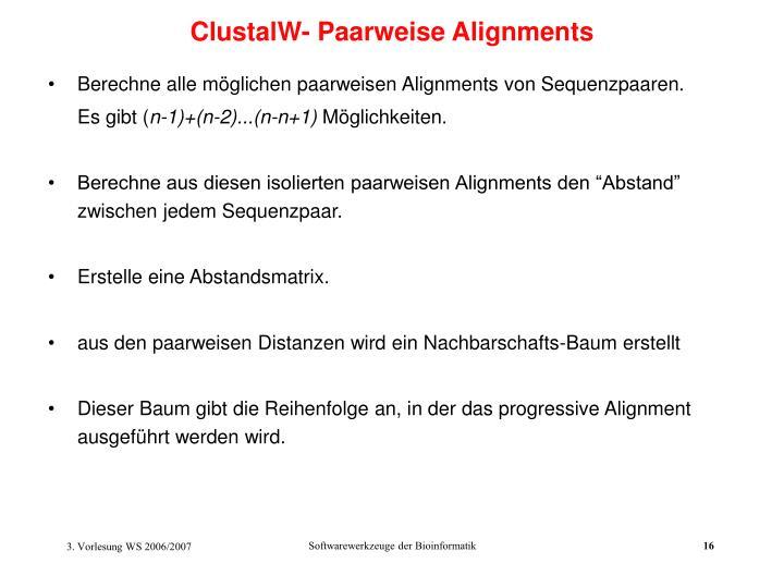 ClustalW- Pa