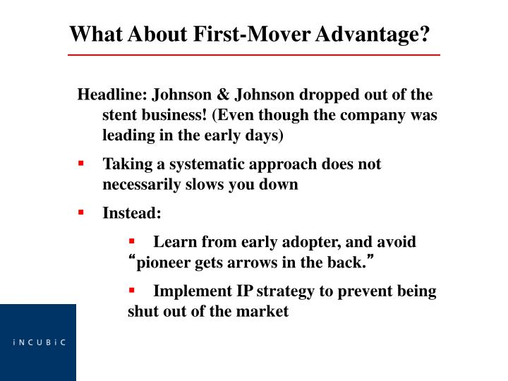Headline: Johnson & Johnson dropped out of the stent business! (Even though the company was leading in the early days)