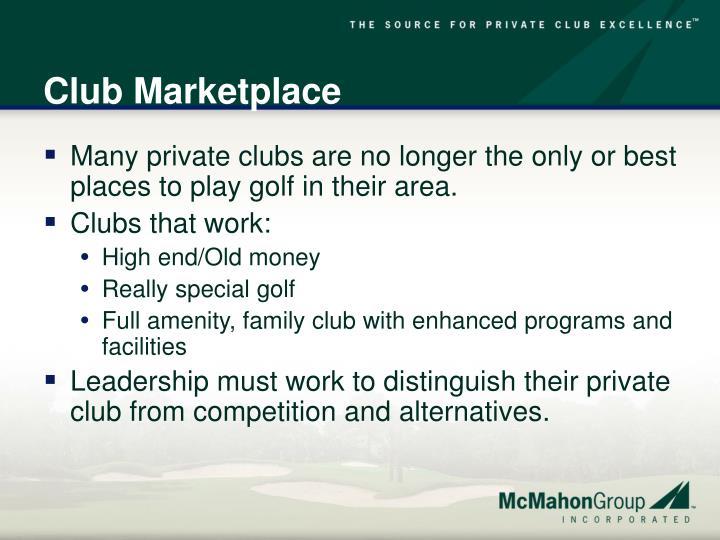 Club Marketplace
