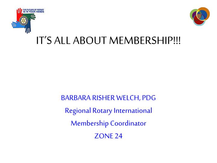 it s all about membership