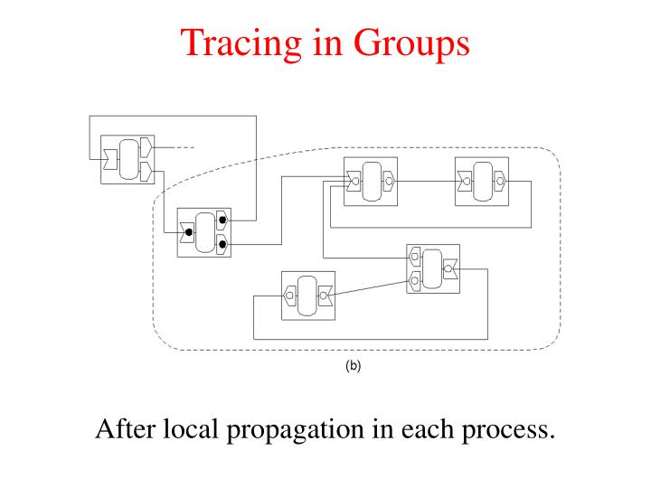 Tracing in Groups