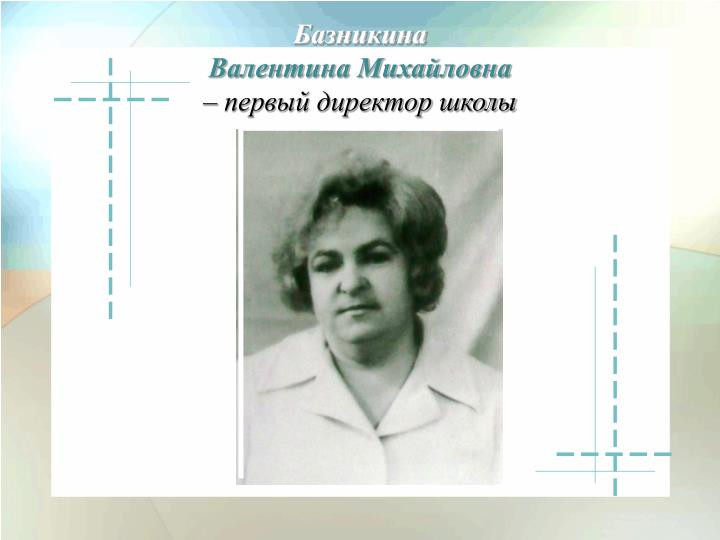 Базникина