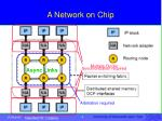 a network on chip