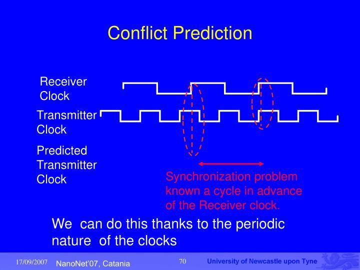 Conflict Prediction